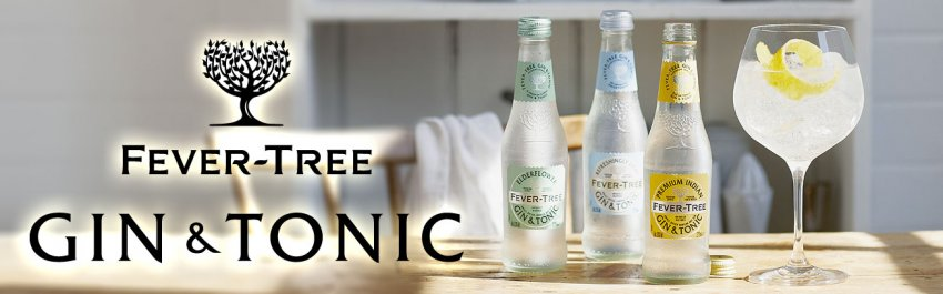 Fever Tree Gin & Tonics
