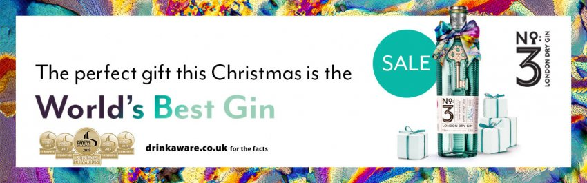 No.3 Gin Christmas Offers