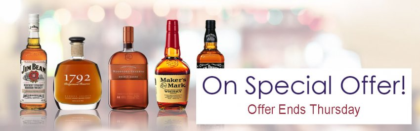 Bourbon & USA Whiskey On Offer