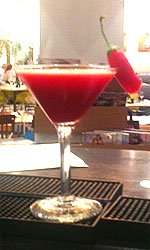 Spicy Beet Root Martini