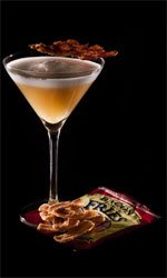 Bacon and Egg Martini