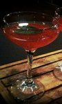 Cocktail Strawberry and Nettle Martini