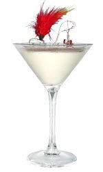 Hot Chocolate Devil Martini
