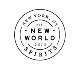 New World Spirits Logo