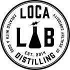 Loca Lab Distilling Logo