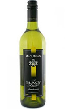 McGUIGANS - Black Label, Chardonnay 2008