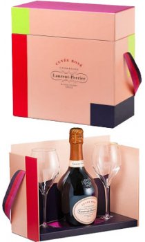 Laurent Perrier - Cuvee Rose Glasses Gift Set