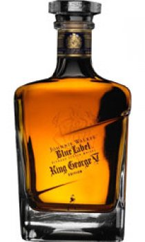 Johnnie Walker - Blue Label, King George V Edition Old Style Bottle