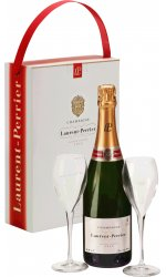 Laurent Perrier - Brut L-P Twin Flute Gift Pack