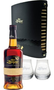 Ron Zacapa - Centenario 23 Year Old Solera With Glasses