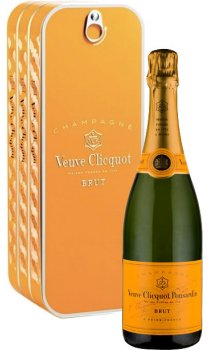 Veuve Clicquot - Yellow Label Metal Coffret
