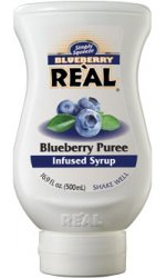 Real - Blueberry Puree Infused Syrup