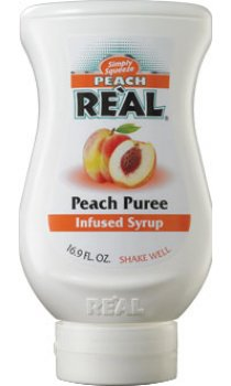 Real - Peach Puree Infused Syrup