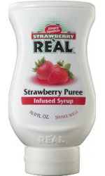 Real - Strawberry Puree Infused Syrup