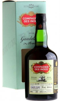 Compagnie des Indes - Guadeloupe Rum