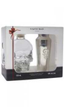 Crystal Head Vodka - With Cocktail Shaker