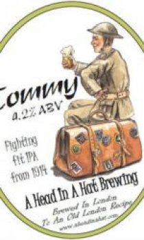 A Head In A Hat - Tommy Ale IPA