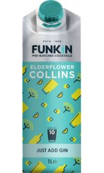 Funkin Cocktail Mixer - Elderflower Collins