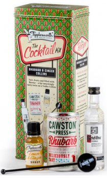 Tipplesworth - Rhubarb & Ginger Collins - Cocktail Kit