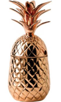 Solid Copper - Pineapple