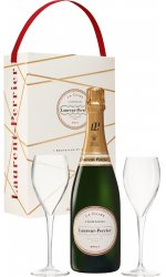 Laurent Perrier - La Cuvée Twin Flute Gift Pack