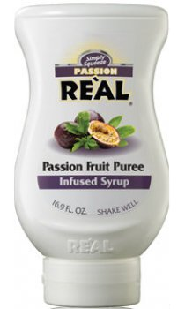 Real - Passion Fruit Puree Infused Syrup