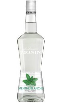 Monin - White Mint Liqueur