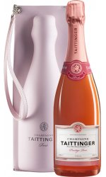 Taittinger - Brut Prestige RoseWith Moulded Ice Jacket