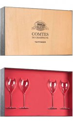 Taittinger - Comtes de Champagne In Wooden Gift Box
