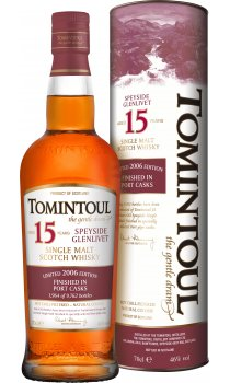 Tomintoul - 15 Year Old Portwood Finish