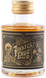 Pirates Grog - No 13 Single Batch 13 Year Aged Rum Miniature