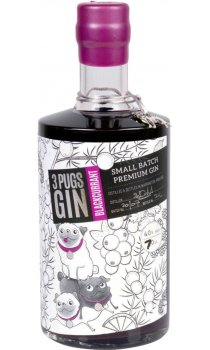 3 Pugs - Blackcurrant Gin