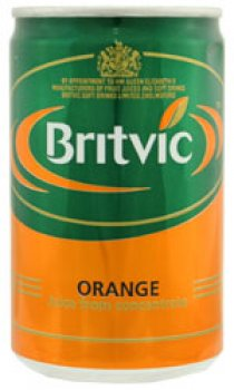 Britvic - Orange Juice (Mini Cans)