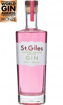 St. Giles - Raspberry Rhubarb and Ginger