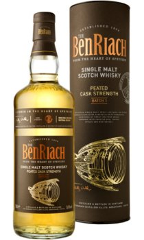 Benriach - Peated Cask Strength Batch 1
