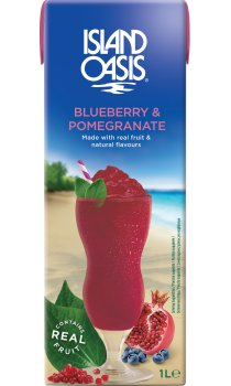 Island Oasis - Blueberry & Pomegranate