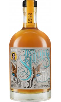 Rockstar Spirits - Captn Webb's Two Swallows Candied Citrus And Salted Caramel Spiced Rum