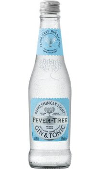 Fever Tree - Premixed Refreshingly Light Gin And Tonic