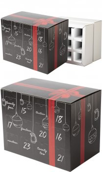24 Can Advent Calendar Gift Box