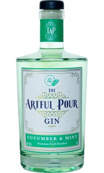 The Artful Pour - Cucumber & Mint Gin
