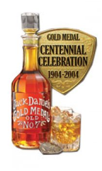 JACK DANIELS - 100th Anniversary Gold Medal