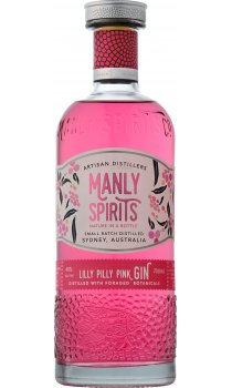 Manly Spirits - Lilly Pilly Pink Gin