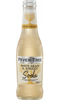 Fever Tree - White Grape and Apricot Soda