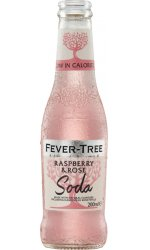 Fever Tree - Raspberry and Rose Soda
