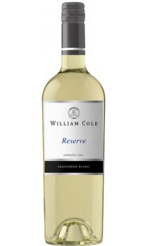 William Cole - Reserve Sauvignon Blanc 2017