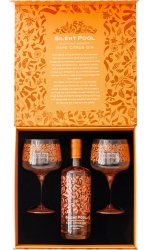 Silent Pool - Rare Citrus Gin and 2 Copa Gift Set