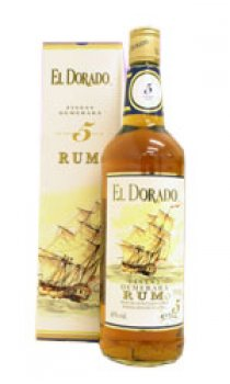 EL DORADO - Finest Demerara 5 year Old