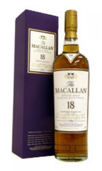 Macallan - 18 Year Old Sherry Oak 1996
