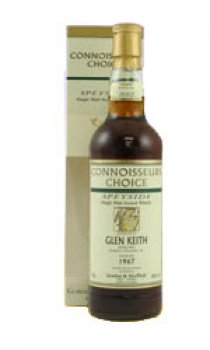 GLEN KEITH - 1968 Gordon & MacPhail Connoisseurs Choice Range