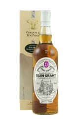 GLEN GRANT - 21 Year Old The Gordon & MacPhail Speyside Malt Range